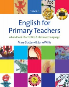 english for primary teachers book cover